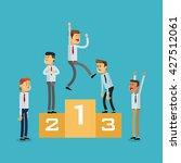 winner design. success icon....   Shutterstock .eps vector #427512061
