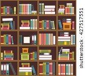 Vector Illustration   Shelves...