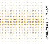 multicolored dot background | Shutterstock .eps vector #42752524
