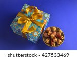islamic festive gift and dates. ... | Shutterstock . vector #427533469