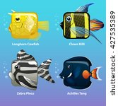 Stylized Fish Are Square  Clow...