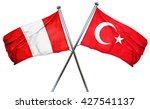 peru flag  combined with turkey ... | Shutterstock . vector #427541137