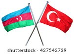 azerbaijan flag  combined with...   Shutterstock . vector #427542739