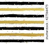 Glitter Gold Striped Wallpaper...