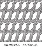 the geometric lineal pattern.... | Shutterstock .eps vector #427582831