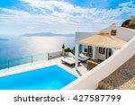 santorini island  greece   may... | Shutterstock . vector #427587799