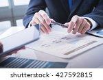 image of business partners... | Shutterstock . vector #427592815