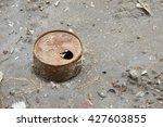 Rusty Tin Can On The Dirty San...