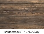 old and used wood background...   Shutterstock . vector #427609609