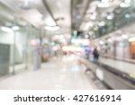abstract blur airport passenger ... | Shutterstock . vector #427616914