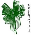 Small photo of Abstract Bow ribbon, Bow Gift.