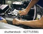 Auto Mechanic Repair Engine In...