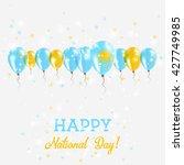 kazakhstan independence day...   Shutterstock .eps vector #427749985