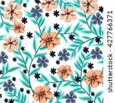 flower pattern | Shutterstock .eps vector #427766371