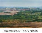 Palouse Wind Turbines. The 40...
