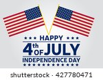 fourth of july. independence... | Shutterstock .eps vector #427780471