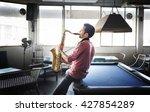 Jazz Man Musical Artist Playin...
