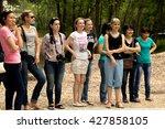 petropavlovsk  kazakhstan   may ... | Shutterstock . vector #427858105