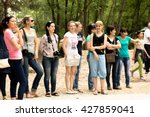 petropavlovsk  kazakhstan   may ... | Shutterstock . vector #427859041