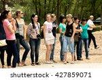 petropavlovsk  kazakhstan   may ... | Shutterstock . vector #427859071