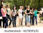 petropavlovsk  kazakhstan   may ... | Shutterstock . vector #427859131