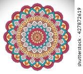 mandala  vector mandala  floral ...   Shutterstock .eps vector #427872619