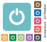flat power switch icons on... | Shutterstock .eps vector #427906834
