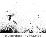 grunge background. dirty.grain... | Shutterstock .eps vector #427923439