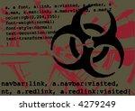 vector typographic grungy... | Shutterstock .eps vector #4279249
