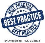 best practice. stamp | Shutterstock .eps vector #427925815