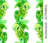 tropical  exotic seamless... | Shutterstock .eps vector #427940011