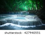 Jungle Landscape With Flowing...