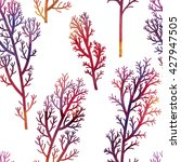 floral seamless pattern with... | Shutterstock . vector #427947505