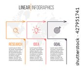 business infographics.timeline... | Shutterstock .eps vector #427951741