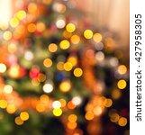 xmas texture as very nice... | Shutterstock . vector #427958305