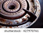 Rust Gas Stove  Old  Dirty  Ol...