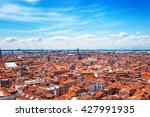 Panoramic Aerial Cityscape Of...