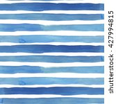 watercolor stripes seamless... | Shutterstock . vector #427994815