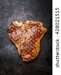 Roasted Or Grilled T Bone Stea...