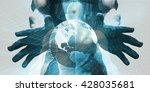 disruptive technologies or... | Shutterstock . vector #428035681