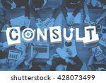 Small photo of Consult Advise Suggestion Support Consultant Concept