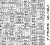 Seamless Pattern Of New York...