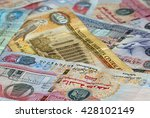banknotes of united arab... | Shutterstock . vector #428102149