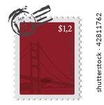 Vintage Marked Stamp Of San...