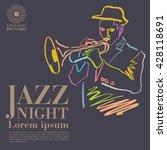 jazz | Shutterstock .eps vector #428118691