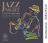 jazz | Shutterstock .eps vector #428119114