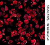 Seamless Rose Petals Pattern I...