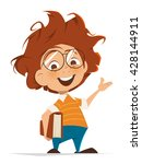 vector character illustration... | Shutterstock .eps vector #428144911