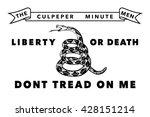 Historic Culpeper Minutemen flag, Authentic version