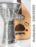 lute and darbuka 1 | Shutterstock . vector #428159305